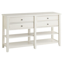 Anywhere Large Console Table - Antique White