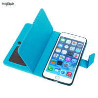 Case For iphone 6s Case Retro Style Flip PU Leather +TPU Cover For iphone 6s Phone Wallet For Apple iphone 6 Plus / 7 / 7 Plus ]