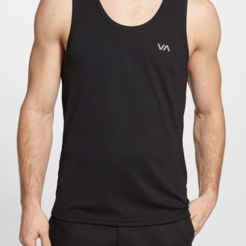 Men's RVCA 'Virus - Performance Series' Fitted Moisture Wicking Tank Top