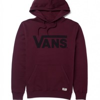 Vans Classic Pullover Hoody in Wine   Shop for Men's clothing   The Idle Man