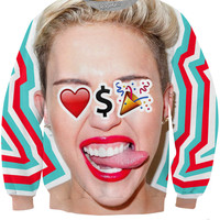 Love Money Party Miley Crewneck Sweatshirt