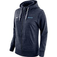Spelman College Women's Full-Zip Gym Vintage Hooded Sweatshirt | Spelman College