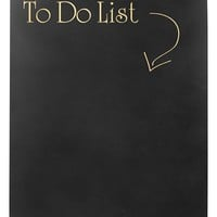Cathy's Concepts 'To Do List' Chalkboard Sign