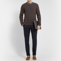 Dolce & Gabbana - Chunky Cashmere and Wool-Blend Sweater | MR PORTER