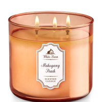 Mahogany Peach 3-Wick Candle | Bath And Body Works
