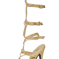 Sexy Gold Adult Shoes