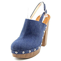 INC International Concepts Ashmee Leather Platform Heel