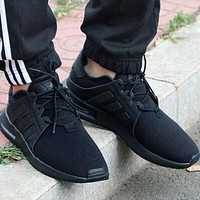 ADIDAS NMD Fashion Women Men Casual Comfortable Sport Running Shoes Sneakers Black