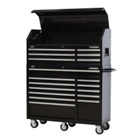 Husky 52 in. 18-Drawer Tool Chest and Rolling Tool Cabinet Set, Black HTC5206 HMT5212 at The Home Depot - Mobile