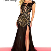 Kari Chang YA1460 Lace Prom Dress