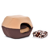 Free Gift Blankets!!Super Bargain!!Multifunction Pet Bed Soft Dog Bed Puppy Kennel Cat House Kitten Cushion Pet Mats and Pillow