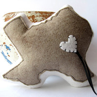 Customizable Texas State Ring Bearer Pillow by lovecalifornia