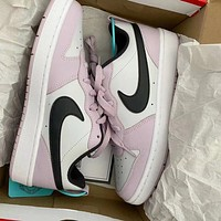 Nike Air Force 1 Af1 Low-top Pink Simple Wild Sports Shoes