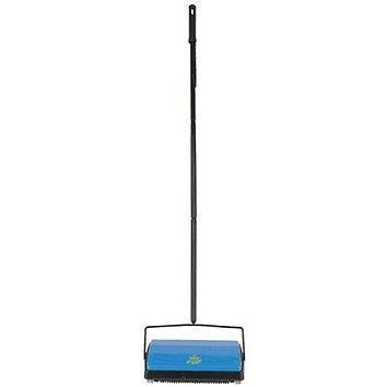 Bissell Sweep-Up Carpet and Floor Sweeper, Lightweight with Advanced Dirtlifter Brush System, Picks Up Lint, Dust, Pet Hairs From Carpets, floors and Laminates, Large Capacity Dirt Pan, and Convenient Lie Flat Handle, and Soft Bumper Is Safe On Walls, ...