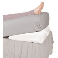 Leachco Swankle Elevated Wedge Pillow, White