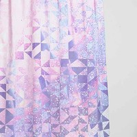 Magical Thinking Cosmic Cutout Shower Curtain- Pink One
