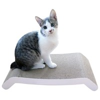 Evelots Reversible Cat Scratching Kitty Board, Corrugated Cardboard Pad