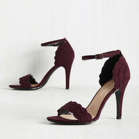 Have the World by Detail Heel in Garnet
