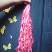 Pink Curly Tail Pinkie pie Tail Unicorn Horse My Little Pony Tail Curly Curls Cosplay Costume MLP