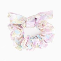Little Twin Stars Hair Scrunchy: Sky Time