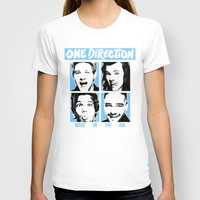 ONE DIRECTION POP SQUARES T-shirt by Dan Ron Eli