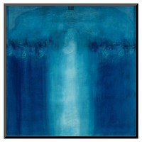 Art.com Untitled Blue Painting, 1995 by Charlie Millar - Mounted Print