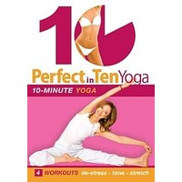 """""""Perfect in Ten: Yoga - 10-minute Yoga Workouts"""" DVD with Susan Grant"""