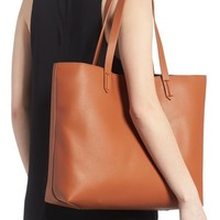 BP. Contrast Lining Faux Leather Tote | Nordstrom