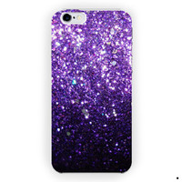 Ombre Fade Pattern Glitter Not Real Glitter  For iPhone 6 / 6 Plus Case