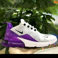 Nike Air Max 270 Tide brand female air cushion running shoes sneakers #4