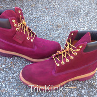 Timberland Customs, Wine-Tone Purple