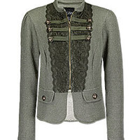 Daytrip Mandarin Military Jacket - Women's Jackets/Blazers | Buckle