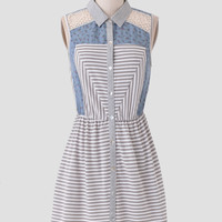 Mesmerize Me Striped Dress