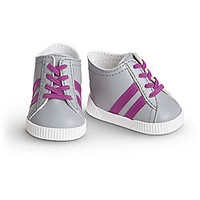 American Girl® Accessories: Striped Sneakers