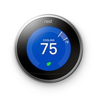Nest Learning Thermostat, 3rd Generation, Works with Amazon Alexa