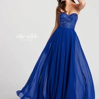Ellie Wilde EW118094- Royal Blue