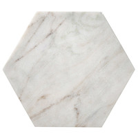 Marble Cutting Board in White