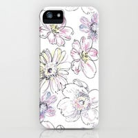 Flower Power iPhone & iPod Case by Pink Berry Pattern