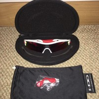 Oakley Polarized Radar Pitch Sunglasses