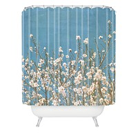 Lisa Argyropoulos Reaching For Spring Shower Curtain