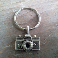 Camera Keychain Purse Key Fob Zipper Pull Backpack Charm