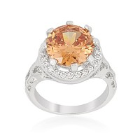Champagne Organic Cocktail Ring