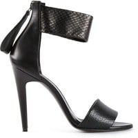 Pierre Hardy contrast ankle strap sandals