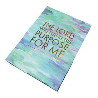 Sticky Note Sets - Watercolor - The Lord Will Fulfill His Purpose For Me