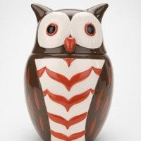 UrbanOutfitters.com > Whoo Ate All The Cookies Owl Cookie Jar