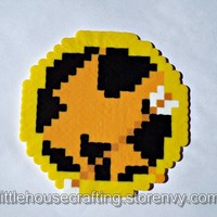 Mockingjay Pin Perler from Little House of Crafting