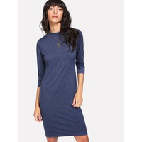 Marled Tshirt Dress