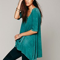 Free People Womens Melrose Swing Tee