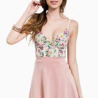 Floral Cup Bustier $29