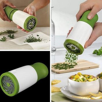Multifunction Manual Grinder Herb Mill Chopper